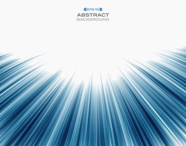 Abstrakt technologii błękita prędkości lampasa linii wzór.