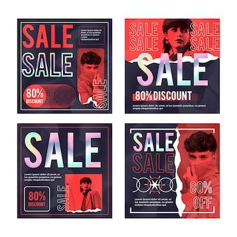 Acid sale instagram post collection