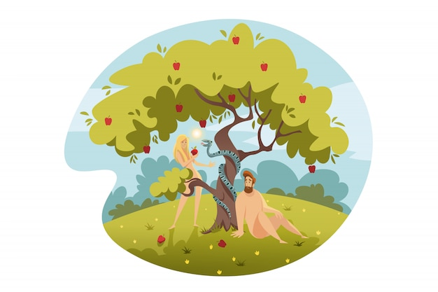 Adam i ewa, grzech pierworodny, koncepcja biblijna
