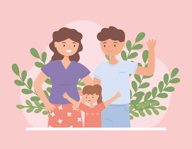 Adoptowana dziewczyna i para