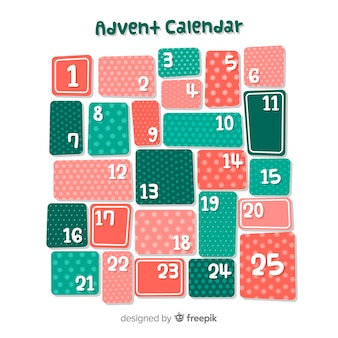 Adwent kalendarza