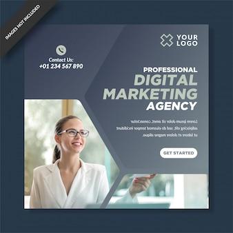 Agencja marketingu cyfrowego post na instagramie