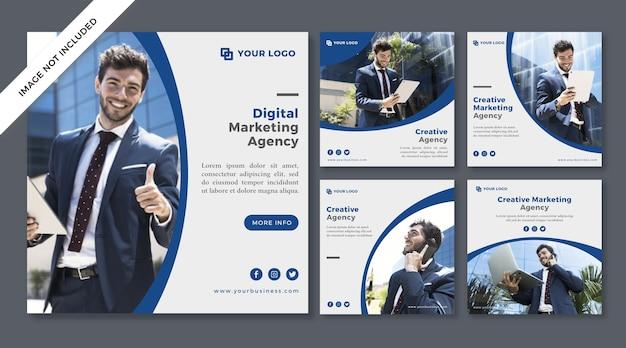 Agencja marketingu cyfrowego post w mediach społecznościowych