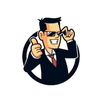Agent software mascot design