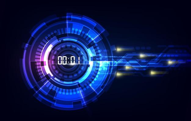 Ai sztuczna inteligencja linii falowych sieć neuronowa. wektor w koncepcji technologii, światłowody światła streszczenie tło.