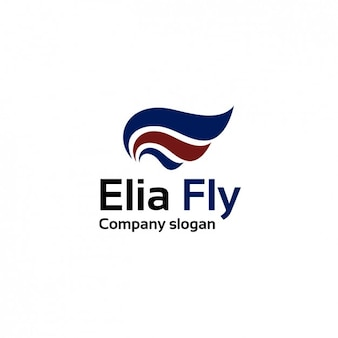 Air lines logo firmy szablonu