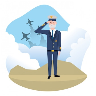Airforce man