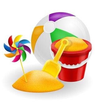Akcesoria plażowe do zabaw dla dzieci