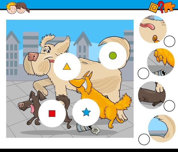 Aktywność dla dzieci ilustracji