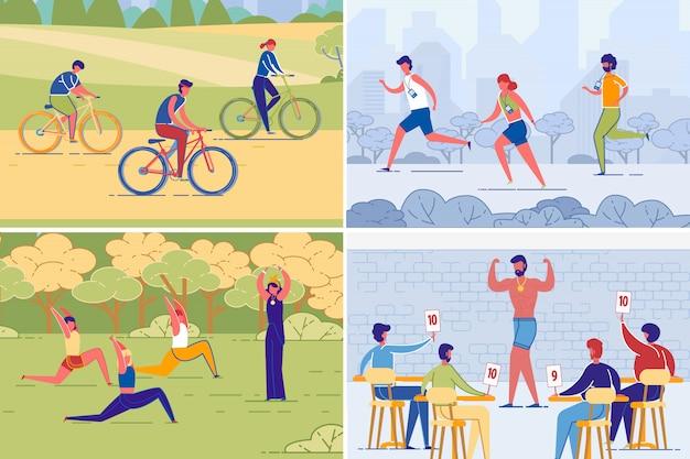 Aktywność fizyczna i styl życia osób zdrowych.