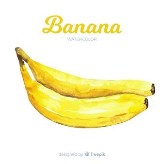 Akwarela banan