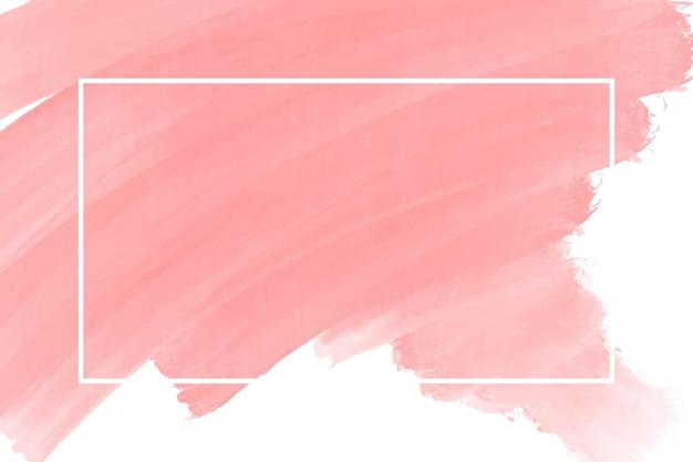 Akwarela brzoskwinia streszczenie tło