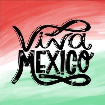 Akwarela dzień niepodległości meksyku