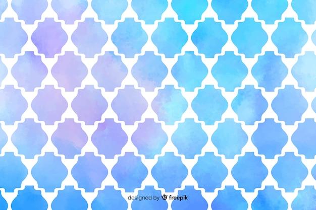 Akwarela kreatywnych mozaiki tło
