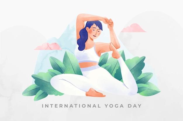 Akwarela międzynarodowy dzień