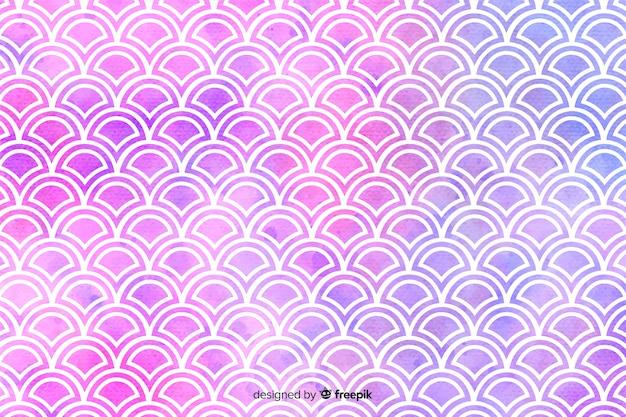 Akwarela mozaika tło