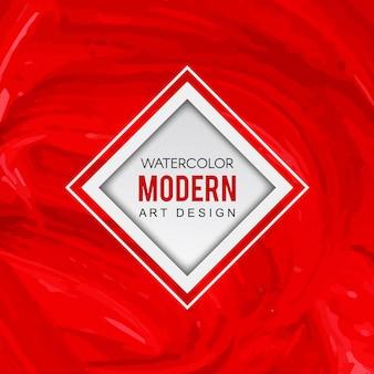 Akwarela nowoczesne tło