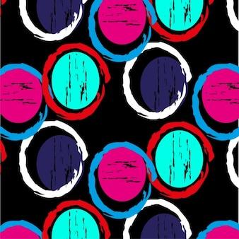 Akwarela okrągłe kształty tle