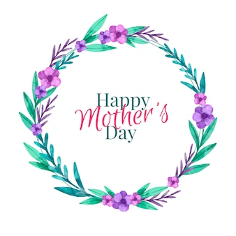 Akwarela projekt dzień matki