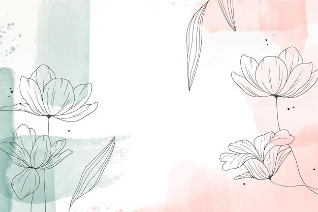 Akwarela ręcznie rysowane tła