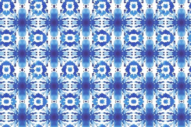 Akwarela shibori wzór tekstury