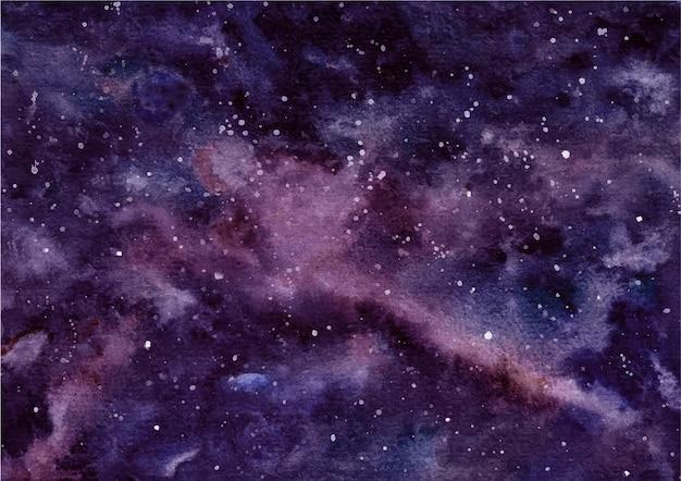 Akwarela tekstury streszczenie ciemne niebo tło