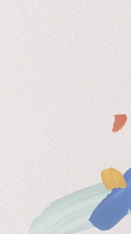 Akwarela wektor tapety na instagramie, minimalne tło mediów społecznościowych