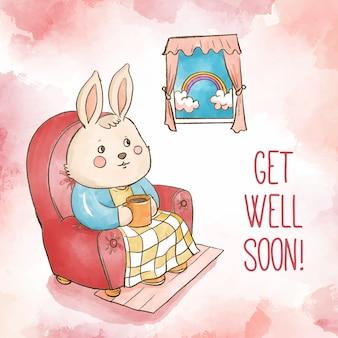 Akwarela wkrótce wróci do zdrowia
