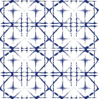 Akwarela wzór shibori