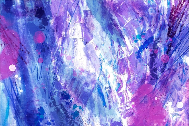 Akwarela wzór z abstrakcyjnymi kreskami