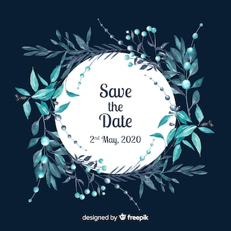 Akwarela zapisz datę