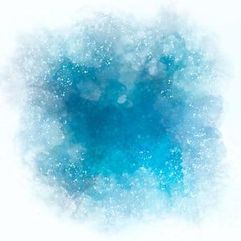 Akwarela zima tło