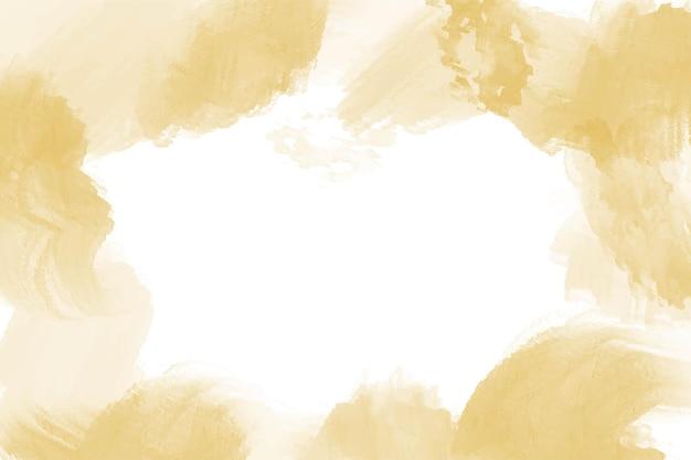 Akwarela żółte złoto abstrakcyjne tło