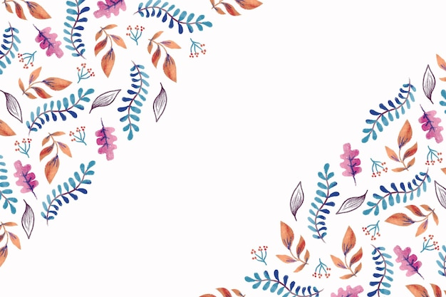 Akwarele jesienne tapety
