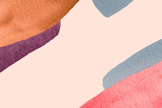 Akwarele malowane abstrakcyjne tapety