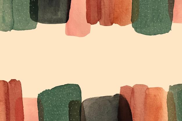 Akwarele malowane abstrakcyjne tło
