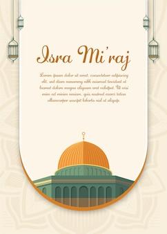 Al-isra wal mi'raj tłumacz nocna podróż prorok mahomet