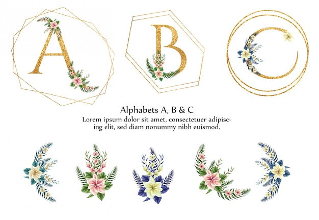 Alfabet a, b, c