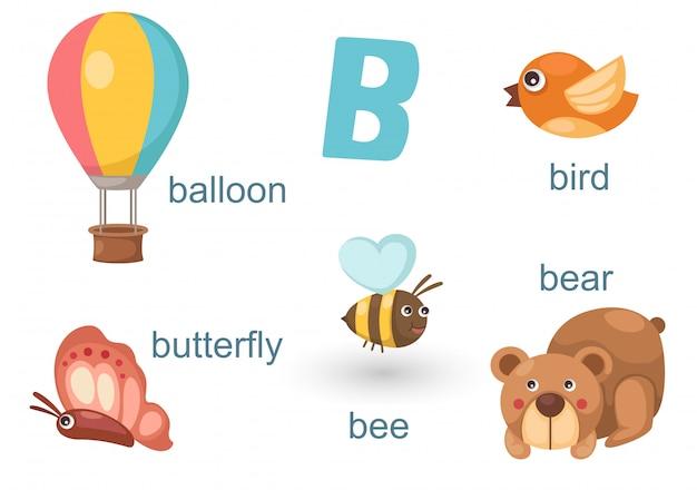 Alfabet b