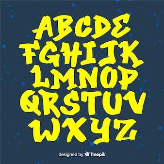 Alfabet graffiti