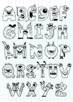 Alfabet halloween