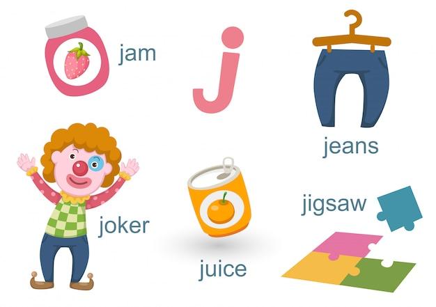 Alfabet j