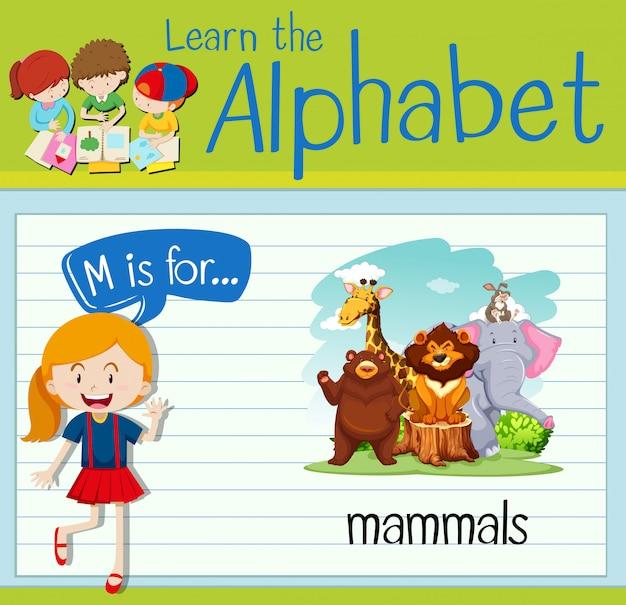 Alfabet kart pamięci m jest przeznaczony dla ssaków