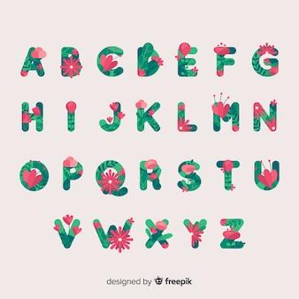 Alfabet kwiatowy
