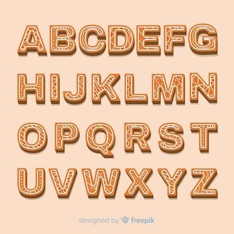 Alfabet piernika