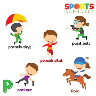 Alfabet sportowy
