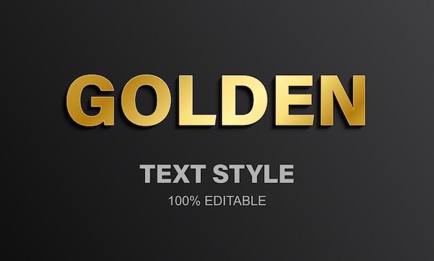 Alfabet złote litery.