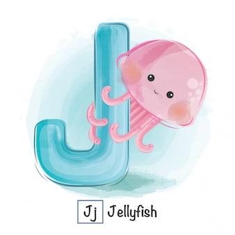 Alfabet zwierząt - j