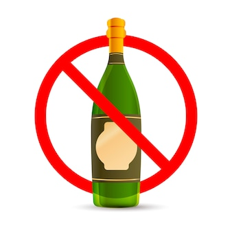 Alkohol nie jest dozwolony