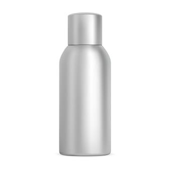 Aluminiowa butelka z rozpylaczem kosmetyczny pojemnik na dezodorant w aerozolu z metalową tubą